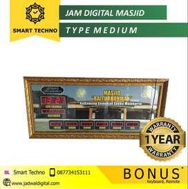 Siap Kirim Jam Digital Masjid Medium di Ulim