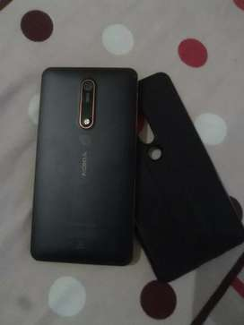 Nokia 6.1  only 3 month old 6500 me.  Phle condition dekho phir lo.