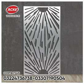 Laser cutting Gate stairs door's