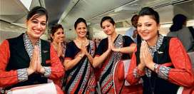 GOOD  OPPORTUNITY FOR  FRESHERS TO  JOIN  IN AIRLINES
