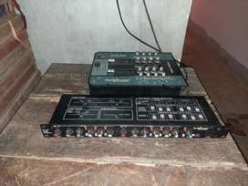 Mixer & crossover for dj