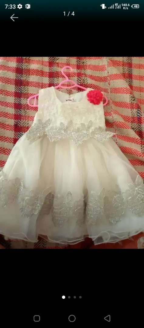 One year baby frock 0