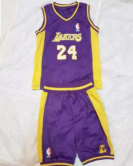 Baju Lakers size 4-5th