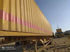 Trailer 50-ft with container