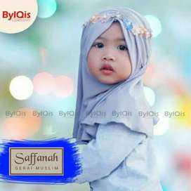 Hijab bayi dan anak batita jogja jilbab bayi mahkota bunga