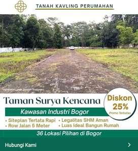 Cari Tanah Sekitar Area Industry Di Bogor Dapatkan Promo Harga Murah