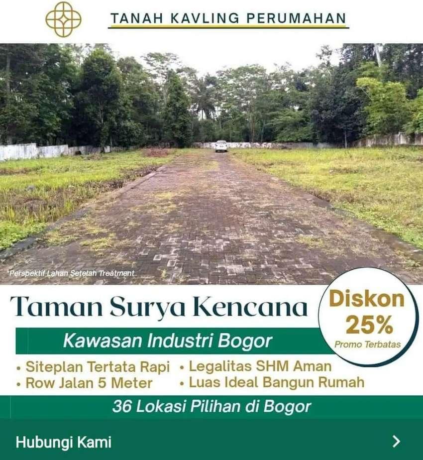 Cari Tanah Sekitar Area Industry Di Bogor Dapatkan Promo Harga Murah 0