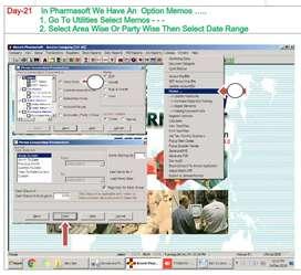 computer operator & medical box packing