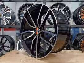 Velg Racing Mercy Ring 20 Tipe Nanga Warna Black Machine Face