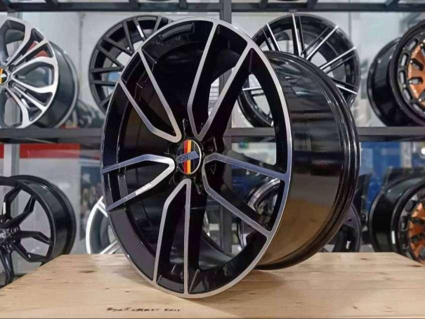 Velg Racing Mercy Ring 20 Tipe Nanga Warna Black Machine Face 0