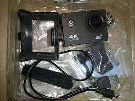 4k Action Camera With Accessories