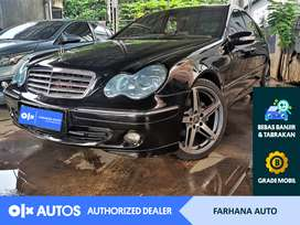 [OLX Autos] Mercedes Benz C230 2.5 Elegance AT 2007 Hitam #FarhanaAuto