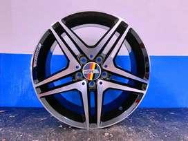 Kredit Velg Mobil Mercy, Tiguan, Innova, Ertiga Ring 17 HSR Wheel