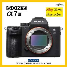 Sony A7 iii mirrorless fullframe 4k Camera