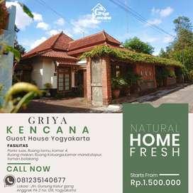 Reservasi Guest House Griya Kencana Yogyakarta.