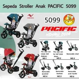 Pasific 5099 Sepeda Roda Tiga Stroller- New
