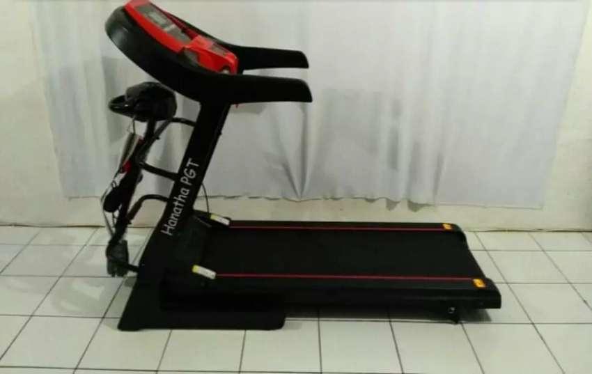 Sedia alat fitnes@treadmill listrik bergaransi 1 tahun 0