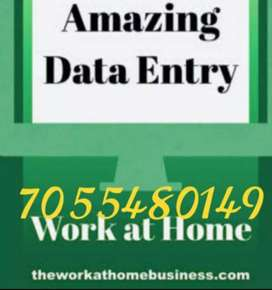 Internet job are available at your home