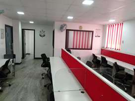 2 cabin,20 work station for rent in sector-16 Noida