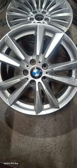 """Best CONDITION FOUR ALLOY WHEEL OF BMW 18"""""""