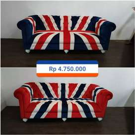 Chester sofa union jack