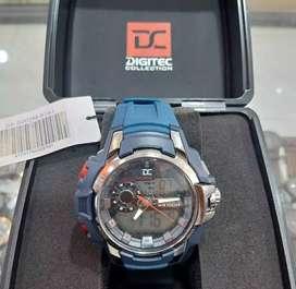 jam tangan DC limited terbatas dialtime fullset blue strap