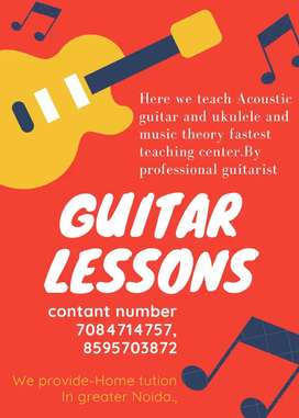Guitar class with singing