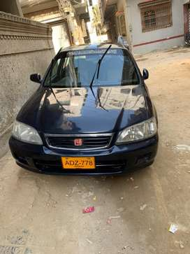 Honda City 2002 EXIS A/C ON NO WORK REQUIRED