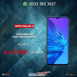 Oppo Realme 5 Available On Installment  0% Advance!