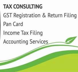Income tax and GST Consultants
