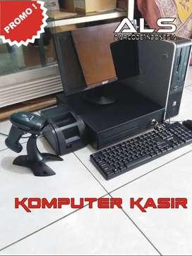 Paket Komputer Kasir Harga sdh termasuk pemasangan dan training