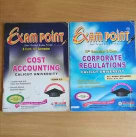 Exam point BCom calicut University