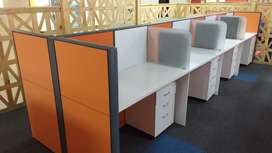 office modular workstation,,reception table,office chair,MD table