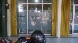 Pintu kaca ruko dan pintu sleding
