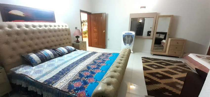 E 11 Full furnished portion 2 bedroom available for rent