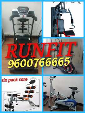 Tread mill is in good condition for better health fitness