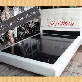 JX MEBEL# Divan Dipan Sandaran SpringBed No.1 Pekanbaru