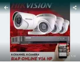 Segera pasang kamera CCTV terlengkap paket siap pasang