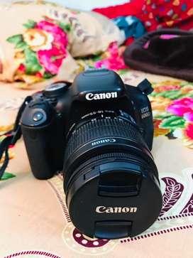 Urgent sale canon 600d dslr with 18-55 lens.Fresh condition .