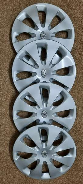 Toyota Aqua/Prius C Original 15 inch Wheel Caps / Covers