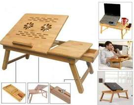 laptop table, desk and stand wooden Multifunctional