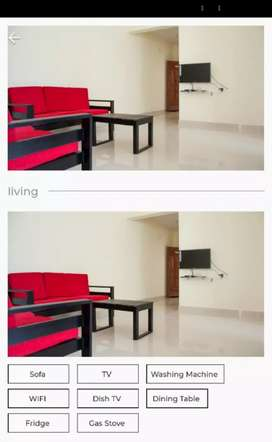 3BHK FULLY FURNISHED SHARED HOUSE FOR BOYS IN PATTANGERE RR NAGAR