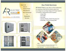 Electrical Panels Manufacture.