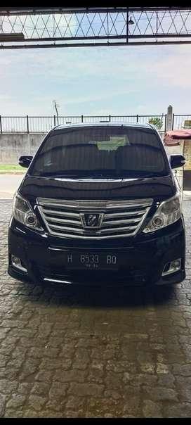 Toyota Alphard 2012 Bensin