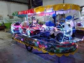 mainan anak kereta mini panggung komedi putar odong MRC gede 11