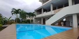 Sewa rumah villa harian kolam renang pribadi bandung dago