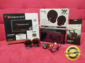 PAKET CAMERA + TWEETER HIFINE+DOUBLE DIN NAKAMICHI Deckless NA3101i