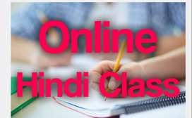 Online Hindi classes...