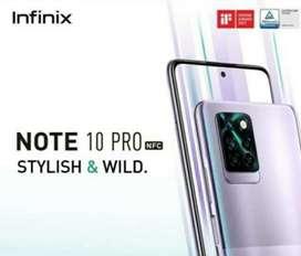 infinix note 10 pro 8/128 nfc