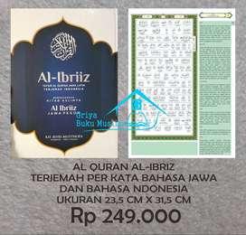 Mushaf Quran Al Ibriz  terjemah bhs Jawa-Indonesia (Semarang)